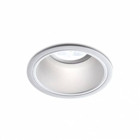 BPM Sikma round recessed light aluminium