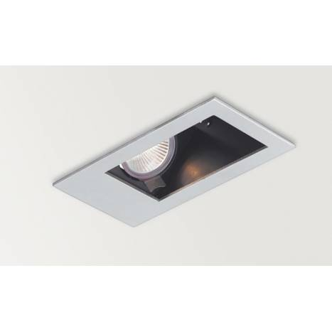 ARKOSLIGHT Secret Tilt washer recessed light silver