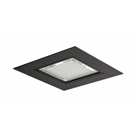 Downlight Kolay LED 25w cuadrado negro de Bpm