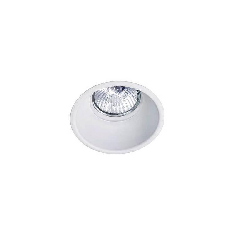 BPM Koni recessed light white aluminium