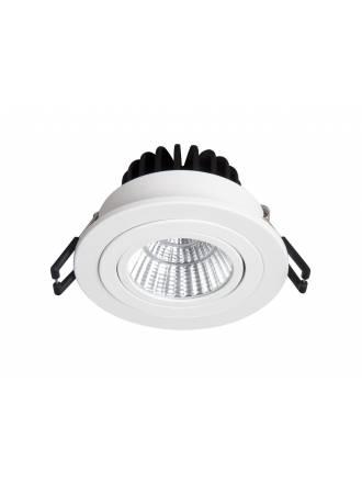 BPM Rebecca round recessed light LED 10w white