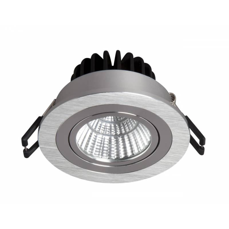 Foco empotrable rebecca led 10w circular aluminio bpm - Foco led empotrable ...