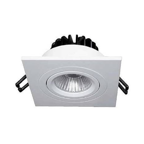 BPM Rebecca square recessed light LED 10w white