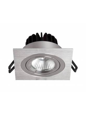BPM Rebecca square recessed light LED 10w aluminium