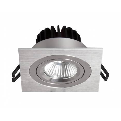 BPM Rebecca square recessed light LED 10w aluminium