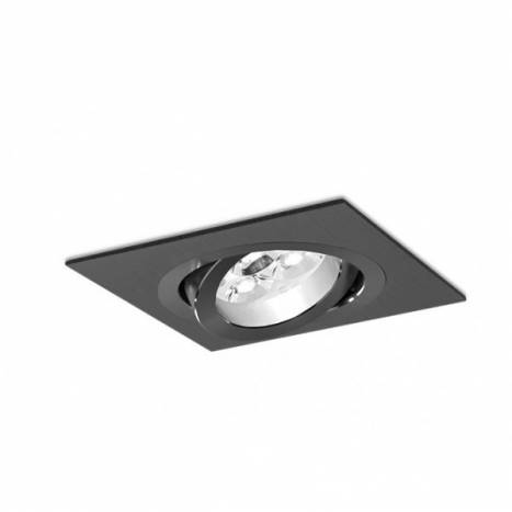 BPM Mini Katli recessed light black aluminium