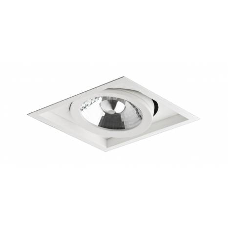 BPM 8005 square cardan recessed light white