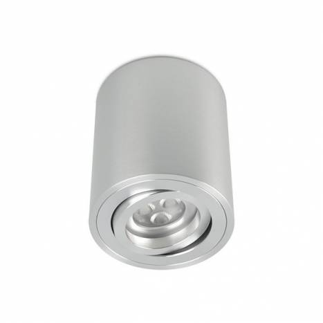 BPM Kup round surface spotlight 1L GU10 aluminium