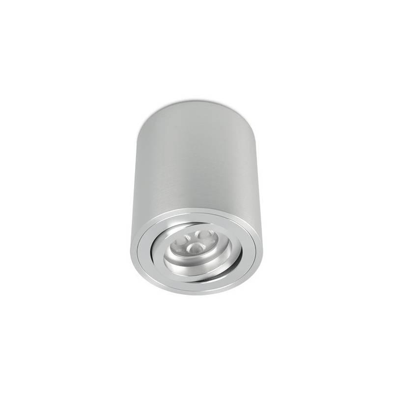 BPM Kup round surface spotlight 1L GU10 aluminium