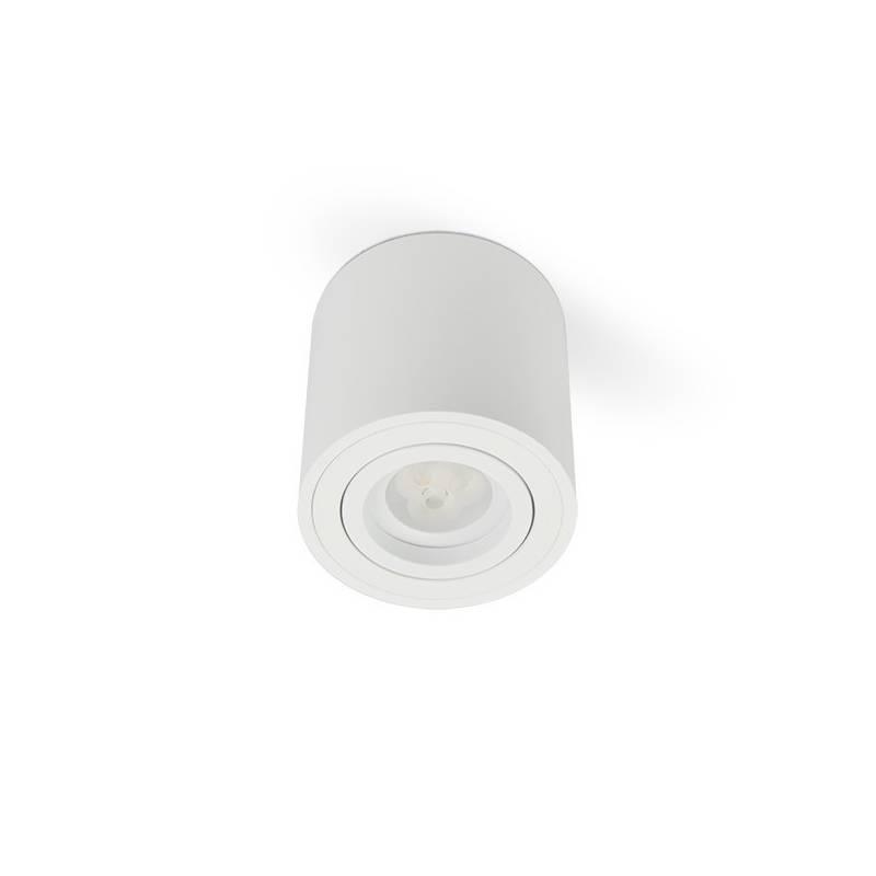 BPM Kup round surface spotlight 1L GU10 white