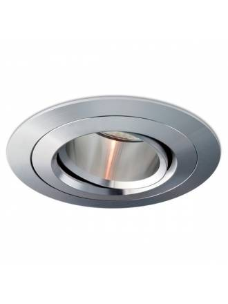 BPM Titan round recessed light aluminium