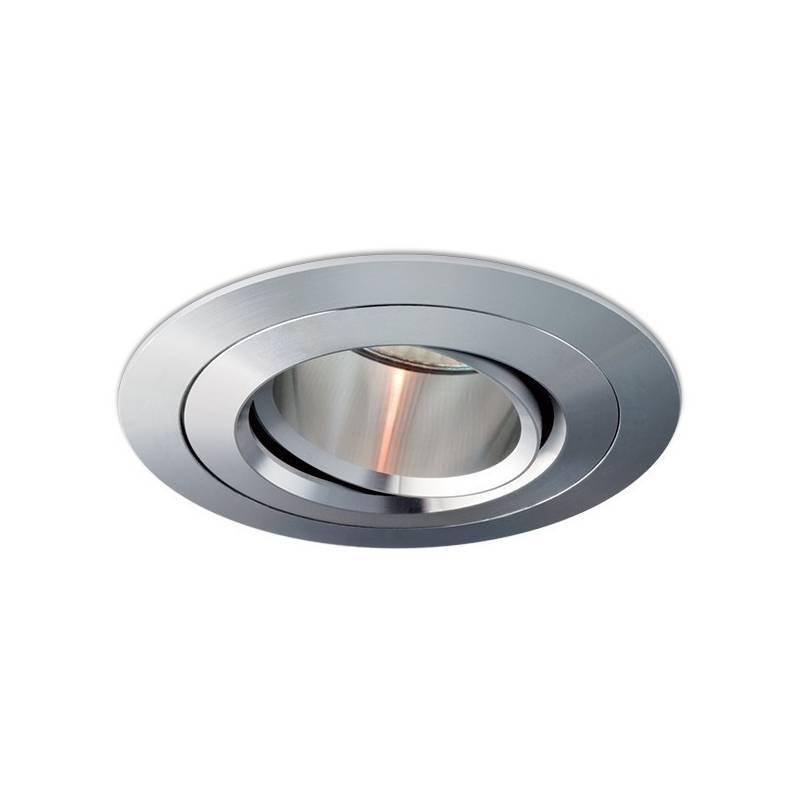 Foco empotrable Titan circular aluminio de Bpm
