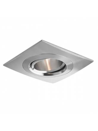 BPM Titan square recessed light aluminium