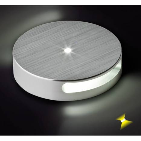 BPM 8034 step light LED 1w round aluminium