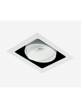 BPM Kuvet recessed light LED 10w white aluminium