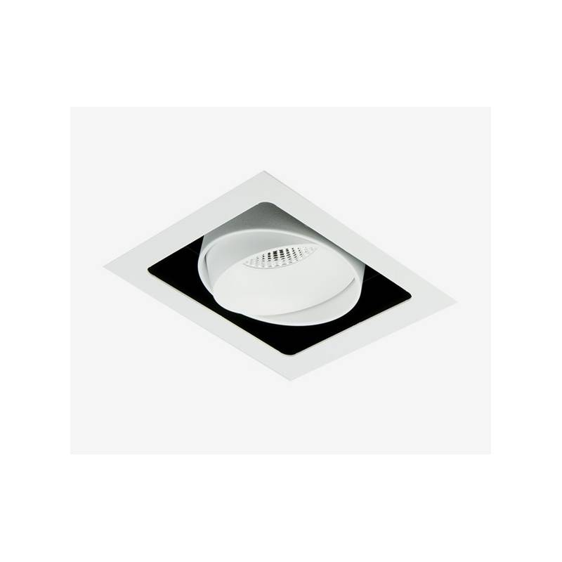 BPM Kuvet recessed light LED 10w white aluminium