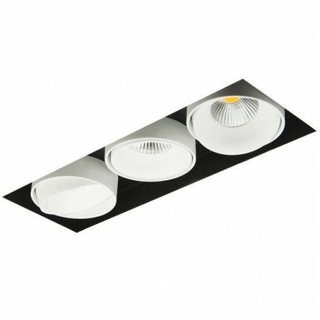 BPM Kuvet recessed light trimless LED 3x10w white