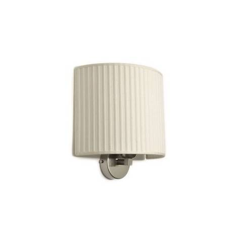 MASSMI Simplicity wall lamp 1L cream fabric