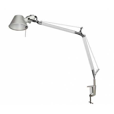 Office clamp lamp 1L aluminium