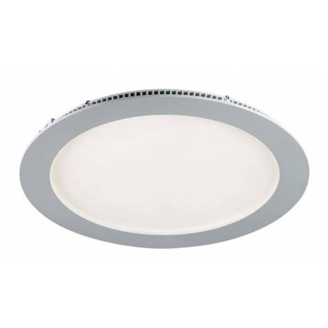 Downlight LED 20w circular gris extraplano de Maslighting