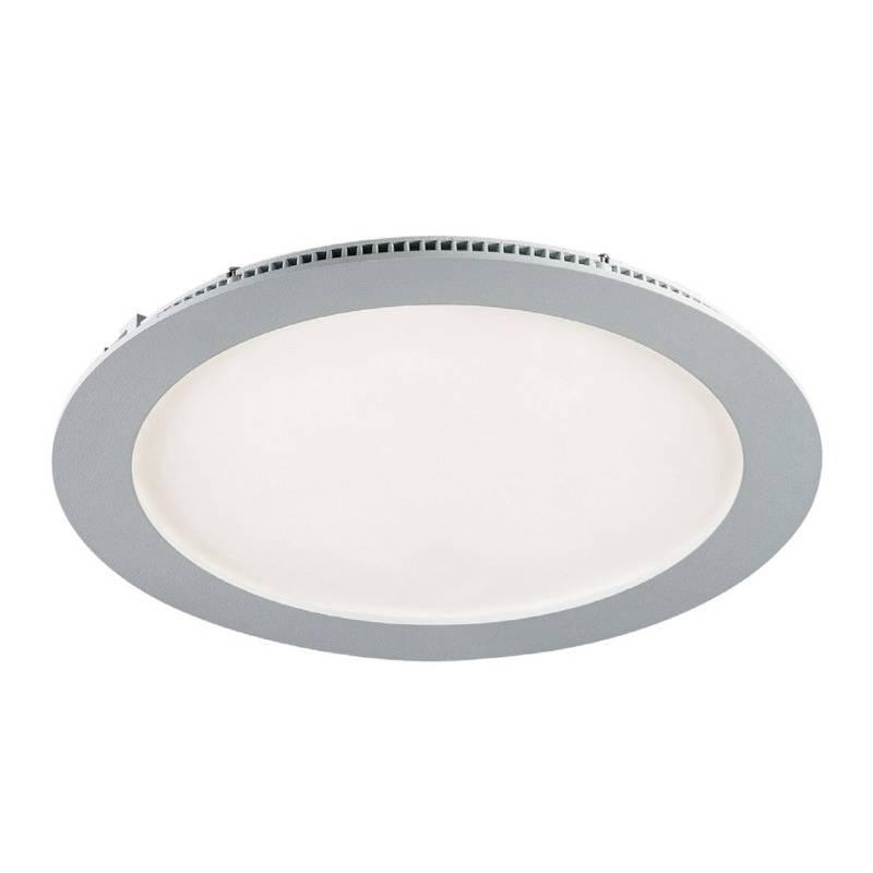Downlight LED 20w circular gris extraplano de Maslighting