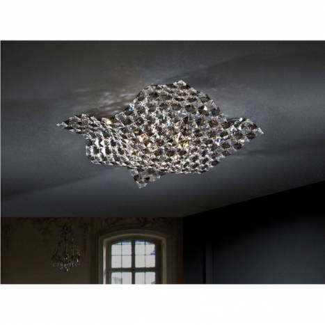 SCHULLER Saten ceiling lamp 4 lights small