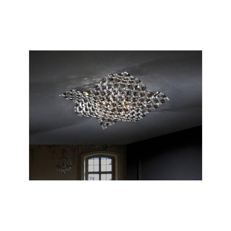 SCHULLER Saten ceiling lamp 4 lights small