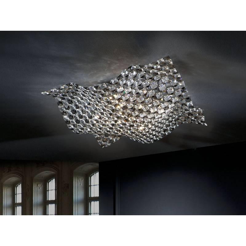 Plafon de techo Saten 5 luces Big Schuller