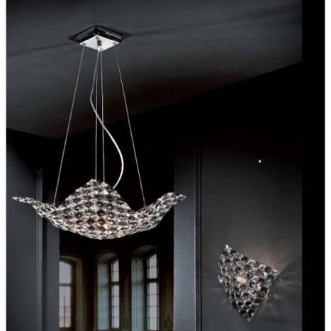 SCHULLER Saten wall lamp 1 light