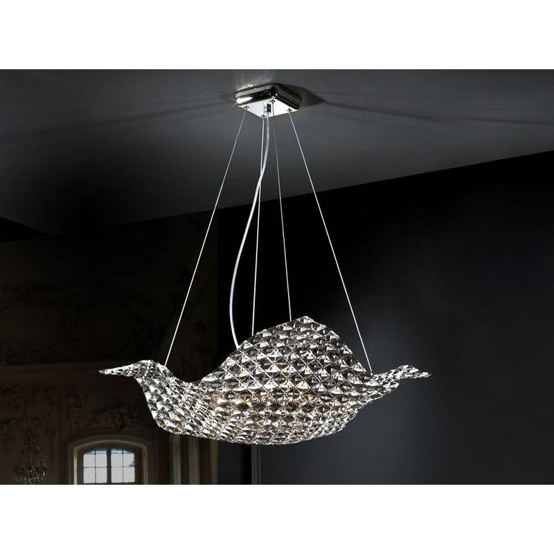 L mpara colgante saten 8 luces big schuller - Apliques y lamparas ...