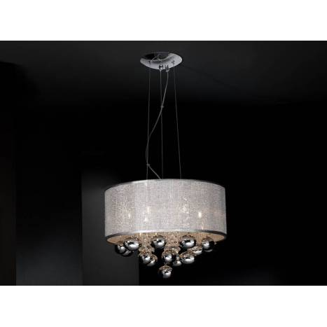 SCHULLER Andromeda pendant lamp 6 lights