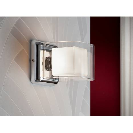 SCHULLER Cube wall lamp 1 light