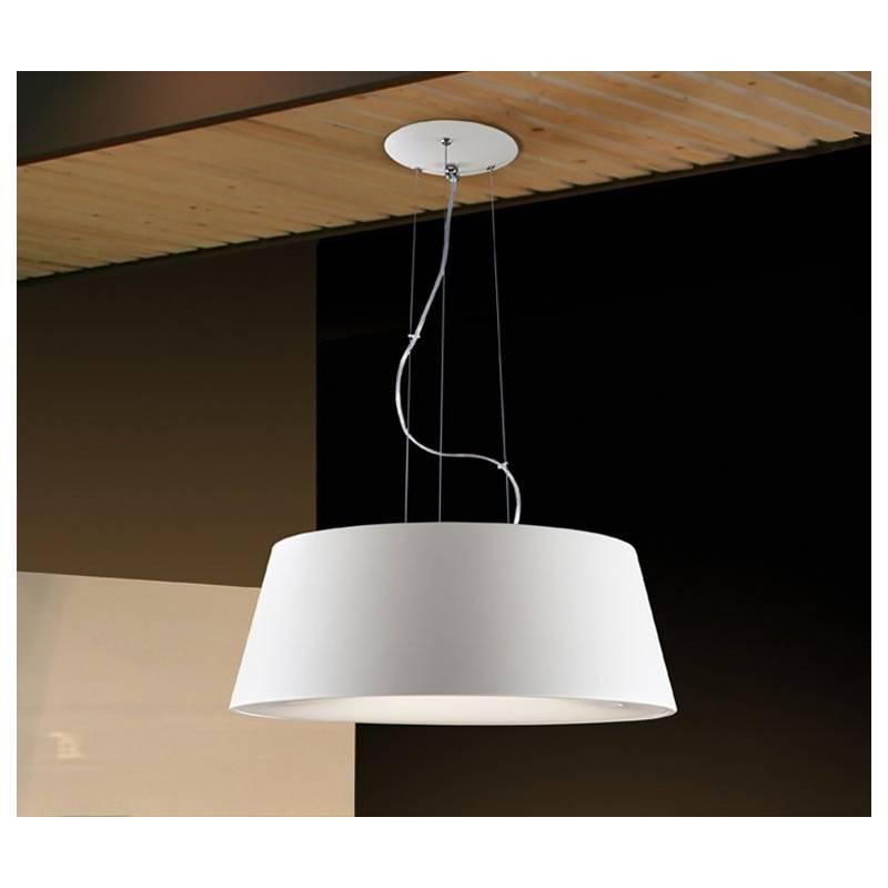 SCHULLER Zone pendant lamp ø50cm 4 lights white