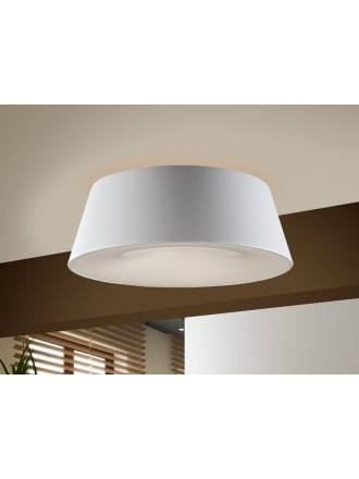 SCHULLER Zone ceiling lamp ø50cm 4 lights white