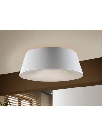 SCHULLER Zone ceiling lamp ø50cm 4 lights white