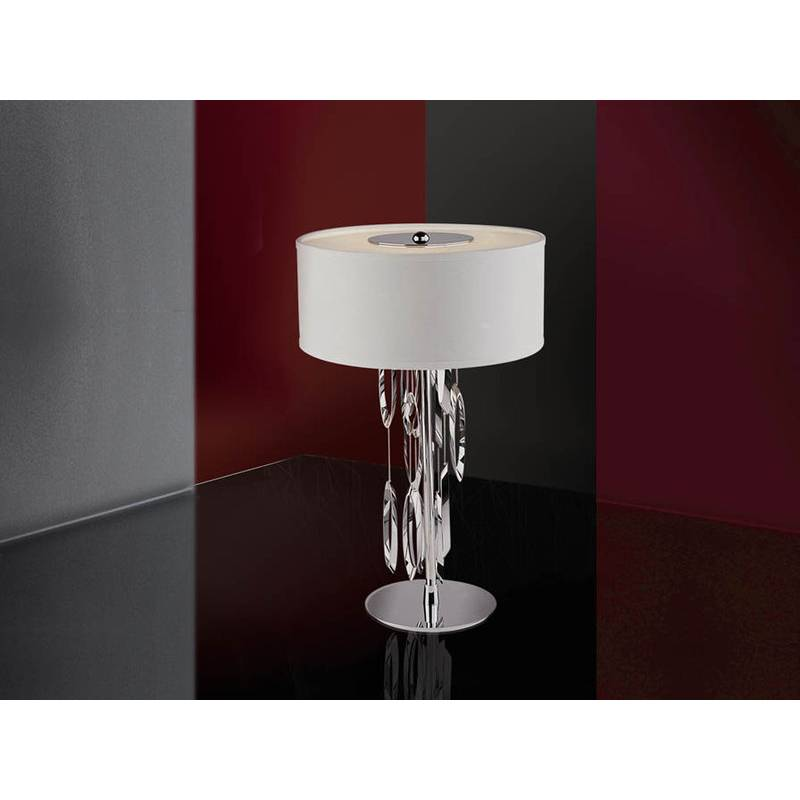 SCHULLER Domo table lamp small white