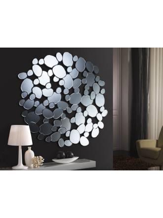 Espejo de pared cristal circular Petra de Schuller