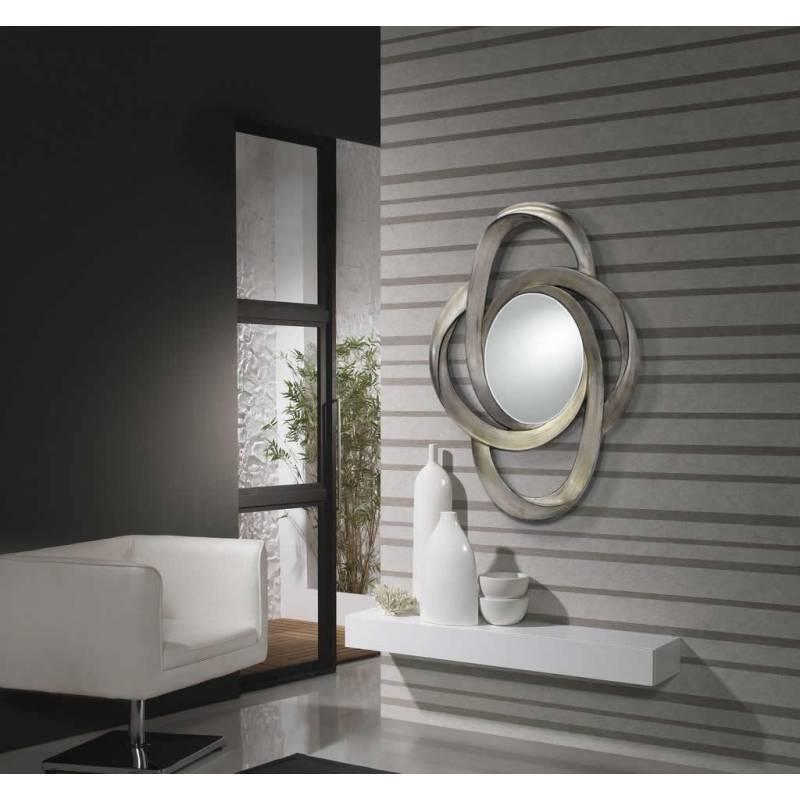 espejo de pared galaxia pan de plata de schuller