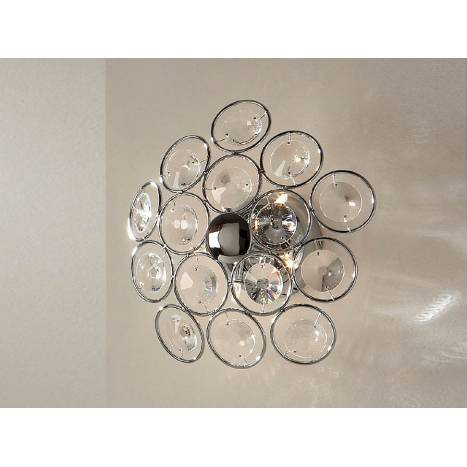 SCHULLER Luppo wall lamp 5 lights chrome