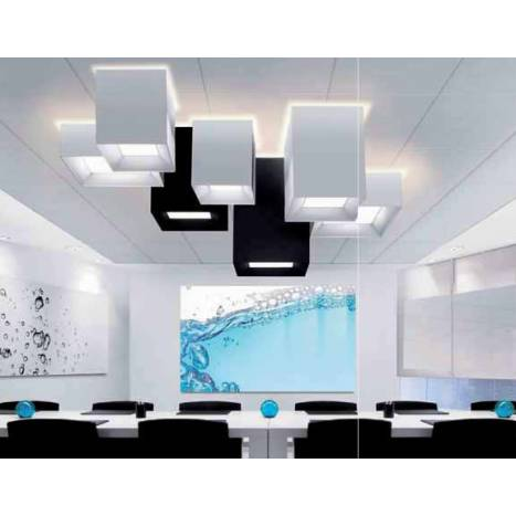Plafon de techo Volum 2 tela colores de Massmi