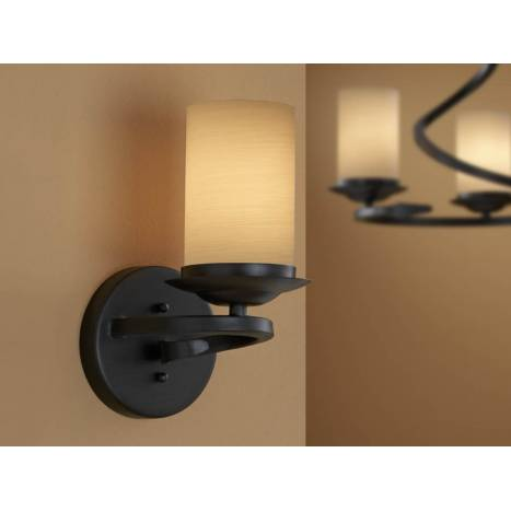 Schuller Crisol wall lamp 1 light black oxido