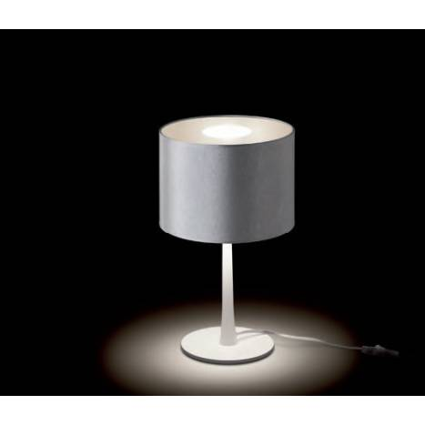 MASSMI Satin Contract table lamp grey fabric