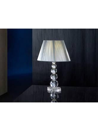 Schuller Mercury table lamp large 1 light transparent