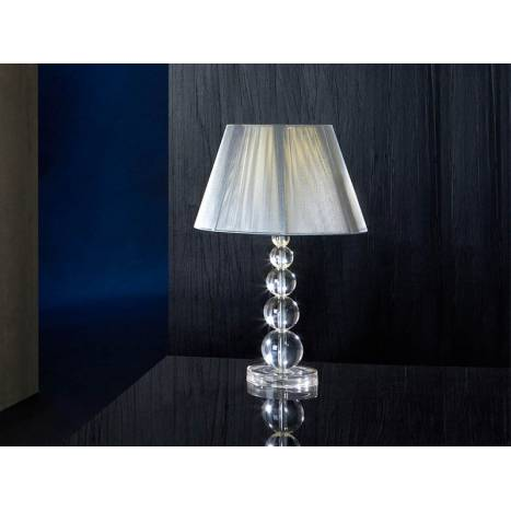 Schuller Mercury table lamp large 1 light transparent