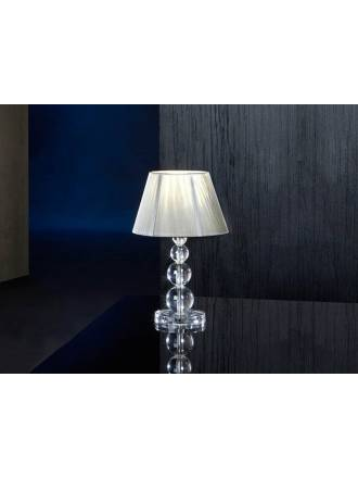 Schuller Mercury table lamp small 1 light transparent
