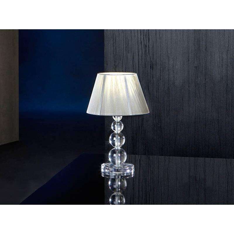Schuller Mercury table lamp small 1 light transparent