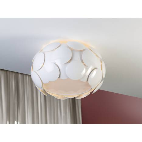 SCHULLER Egea ceiling lamp 6 lights white