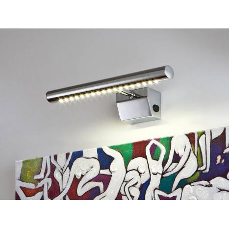 Aplique de pared 697 LED 36cm en cromo de Schuller