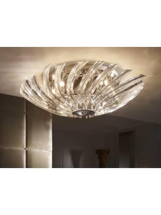 SCHULLER Eloise ceiling lamp 8 lights bright chrome