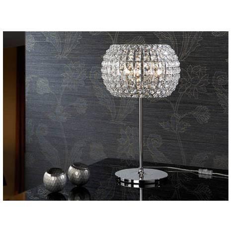 Schuller Diamond table lamp large 3 lights chrome